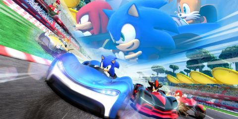 Team Sonic Racing arrive!