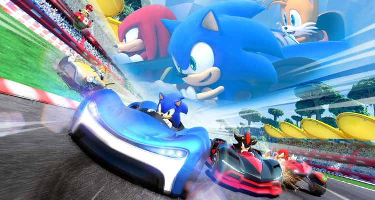 Team Sonic Racing arrive!
