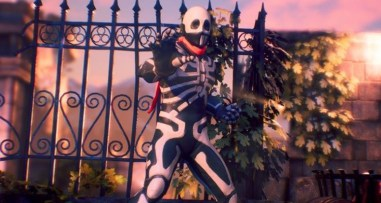 Skullomania dans Fighting EX Layer