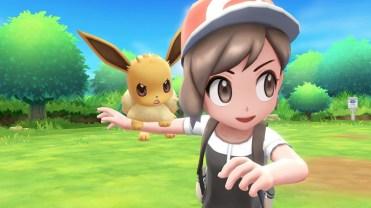 Pokémon Let's Go Pikachu - Let's Go Evoli
