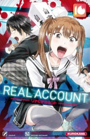 Real Account, Bessatsu Magazine, Watanabe Shizumu, Ohusho, Kodansha, Kurokawa, リアルアカウント, Manga, Résumé, Critique, News, Personnages, Citations, Récompenses