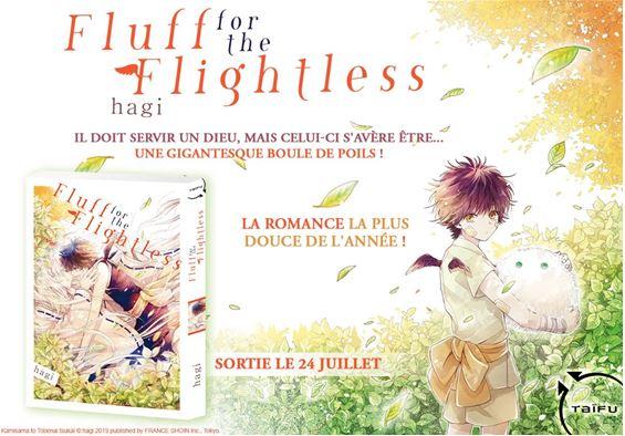 Fluff for the flightless annonce taifu nipponzilla