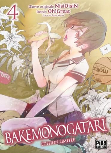 Pika Edition Manga Actu Manga Bakemonogatari Oh ! Great NisiOisi Weekly Shonen Magazine Kodansha