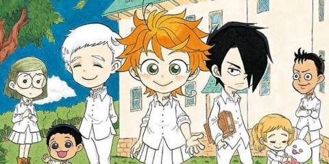The Promised Neverland - Gag Manga Manga Actu Manga Kazé Manga The Promised Neverland Posuka Demizu Kaiu Shirai Shonen Jump + Shueisha Shûhei Miyazaki Oyakusoku no Neverland
