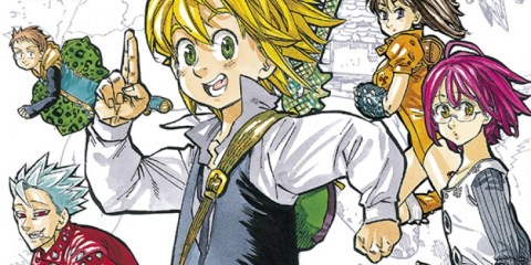 Seven Deadly Sins Manga Actu Manga Nakaba Suzuki Weekly Shonen Magazine Kodansha Pika Edition
