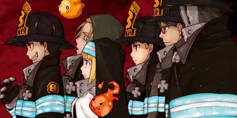 Fire Force Japanime Actu Japanime Manga Actu Manga David Production Atsushi Ohkubo Yuki Yase Gakuto Haishima Hideyuki Morioka Yoshito Takamine Kenichiro Suehiro Kana Anime Digital Network Wakanim Shueisha Kana-Boon Torch of Liberty