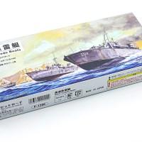 米英独の魚雷艇 12隻が詰まった「ピットロード 高速魚雷艇」は海の宝石箱や〜。