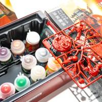 初めてのシタデルカラー体験/水性筆塗り界のレジェンドボックス、赤系プラモを塗りたければコレだ!