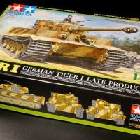 タミヤ1/48MMなら憧れのゴツいティーガーIも2日で組める!!「ドイツ陸軍 重戦車 タイガーI 後期生産型」。