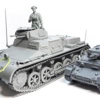 小さな戦車の大きなプラモで見える世界。「タコム 1/16 ドイツ1号戦車 B型」