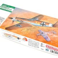砂漠仕様メカのオリジネイター!? 傑作プラモで楽しむ元ネタの味。「ファインモールド 1/72 ドイツ空軍 メッサーシュミット Bf109 F-4 / Trop マルセイユ」
