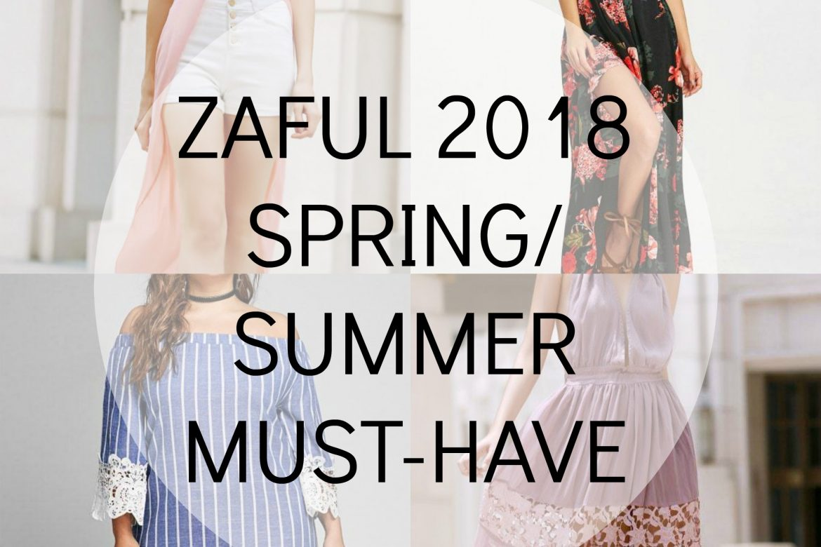 2018 Spring Must Have || Zaful