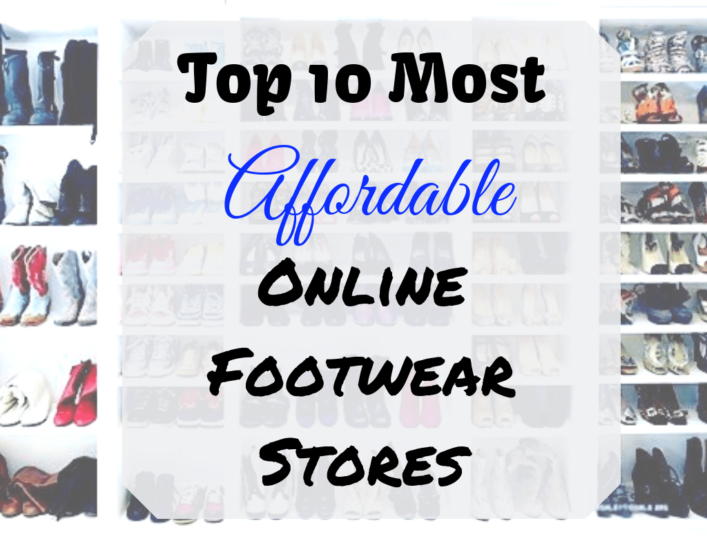 Top 10 Cheap Online Shoes Stores