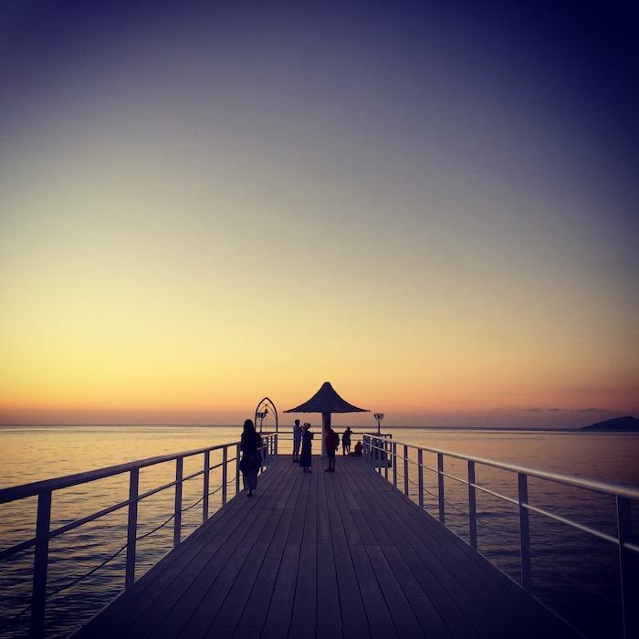 フサキリゾートの桟橋
