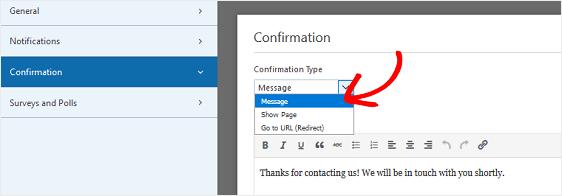 Form Confirmation - Niranjan - WPForms - Niranninja