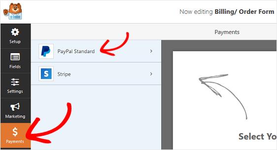 Payment settings - Niranjan - WPForms - Niranninja