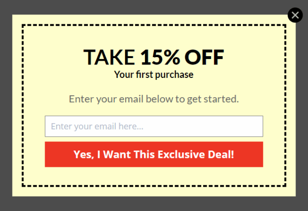 Coupon's look - How to Create a Popup Coupon that Boosts Sales