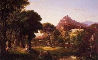 Dream of Arcadia - 1838 - Thomas cole