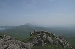 目国内岳からの眺め