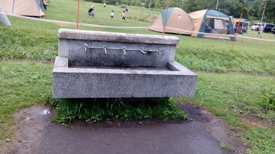 桂沢湖 キャンプ場