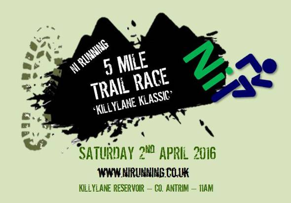 Trail Race poster 2016