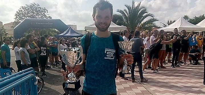 Conan McCaughey secures podium place at Carrera de San Fulgencio 10k!