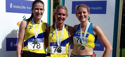 North Down AC ladies secure silver medals at AAI National Road Relay Championships!