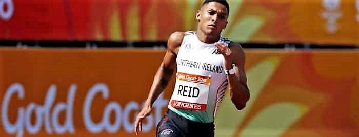 Leon Reid smashes his own NI 200m record at British Athletics Championships!