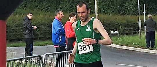 Martin Cox and Paula Donnelly lead the way at Paul Murray GP 5k!