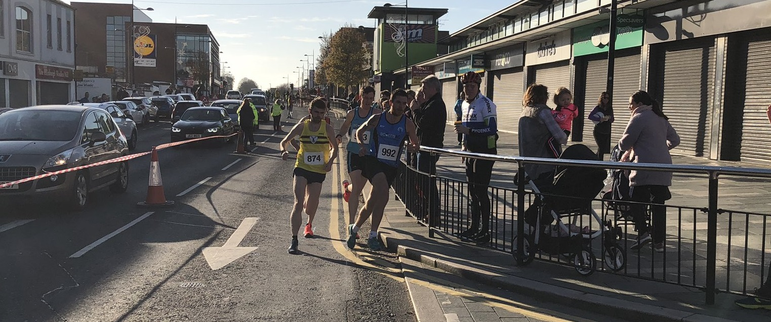 John Black and Kelly Neely claim top honours at County Down 5k!