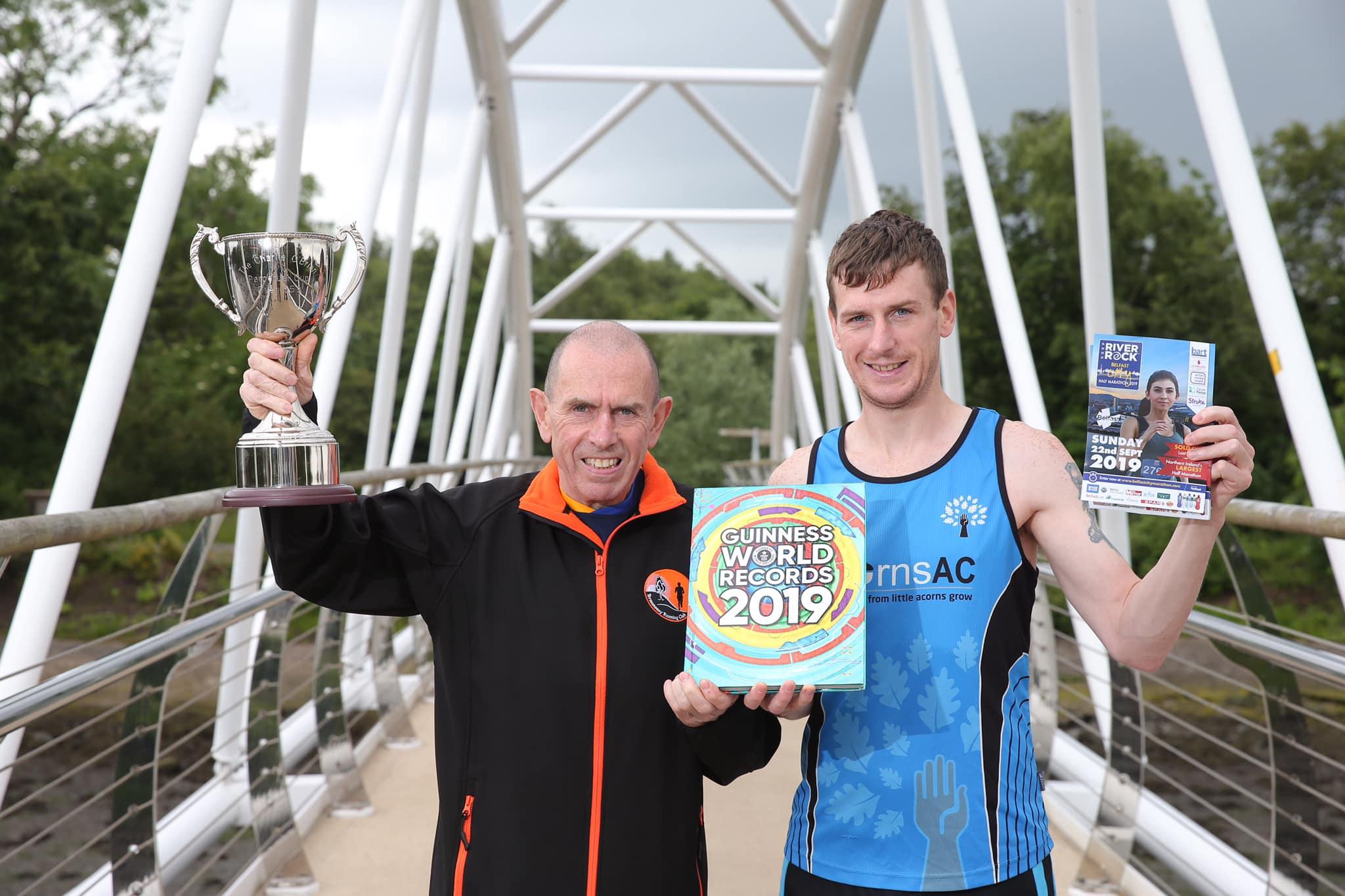 Award Winning Father and Son set for World Record at September Belfast City Half Marathon