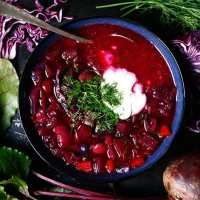 The Best Vegan Borscht