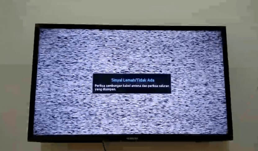 cara mengatasi sinyal net tv hilang
