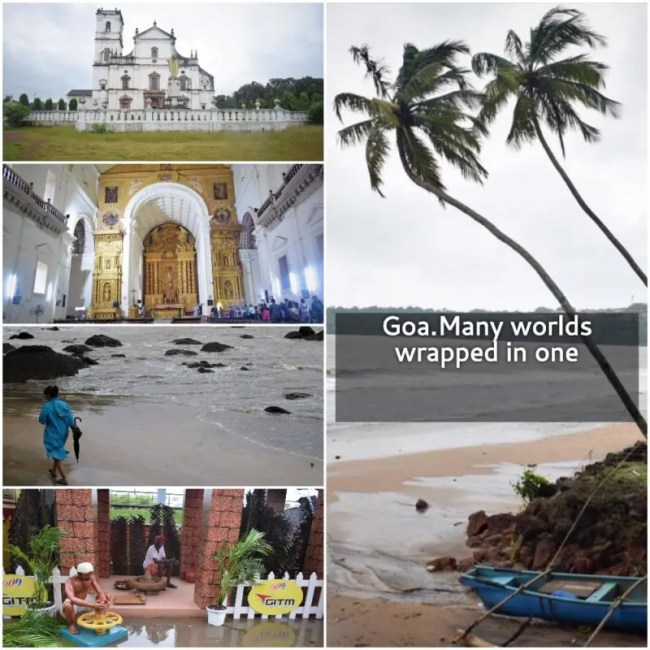 Goa. Many worlds wrapped in one