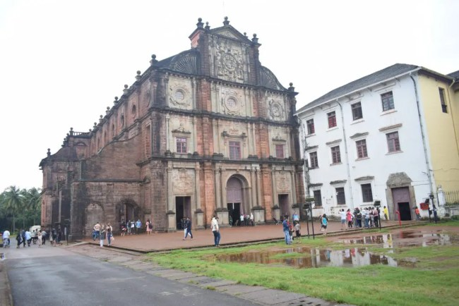Bom Jesus Church Goa