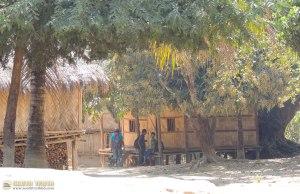 রুনাজন পাড়া স্কুল - ছায়া সুনিবীড়, কাকলী-কুজনে মুখর এক স্থান (ছবি: লেখক)