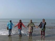 দলের নারীচতুর্থী - কলি, শারমিন ভাবী, আমার গিন্নী, লতা ভাবী (ছবি: নিশাচর)