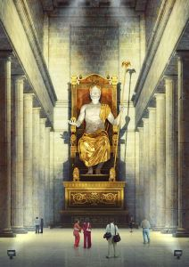 অলিম্পিয়ার জিউসের মূর্তি - Evgeny Kazantsev