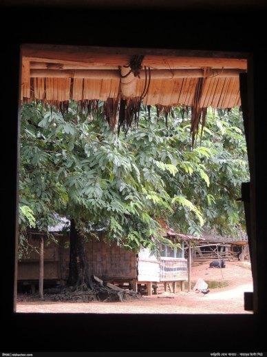 জানালা দিয়ে জুরভারং পাড়া - নিশাচর