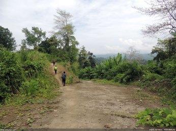ডানদিকের পথটা গেছে পাইক্ষ্যং পাড়া, বামদিকেরটা রোয়াংছড়ি