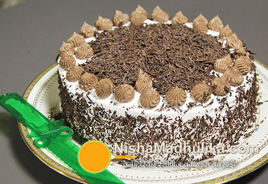 Black Forest Cake Making In Hindi
