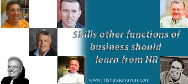 Skills other functions of business should learn from HR
