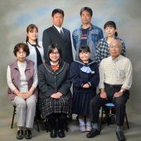 西尾に来てくれた親戚の写真