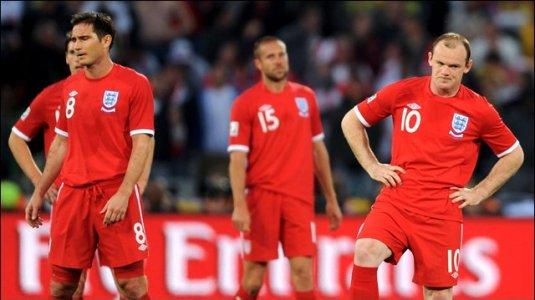 A Downcast England Team