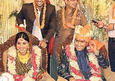 Dhoni's Wedding to Sakshi Rawat