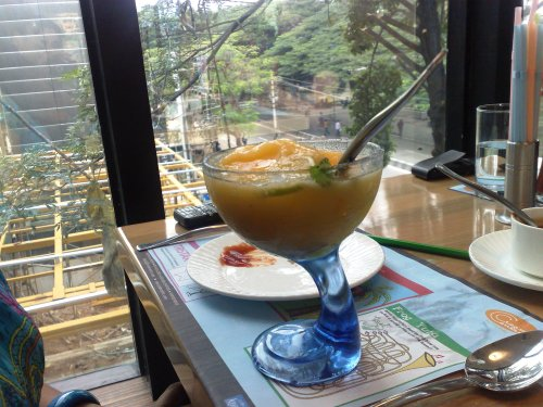 Absolutely awesome drink, unfortunately I forgot the name :(