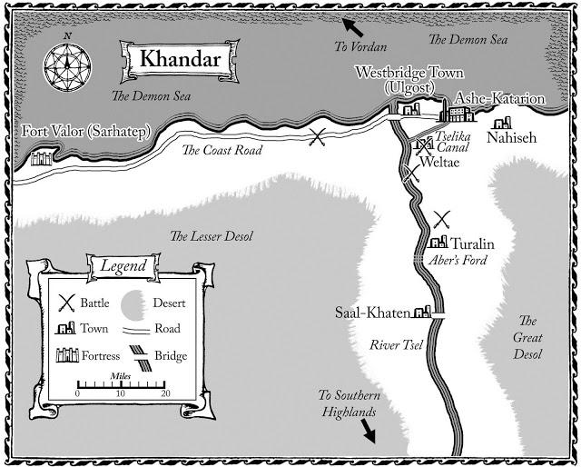 Map of Khandar