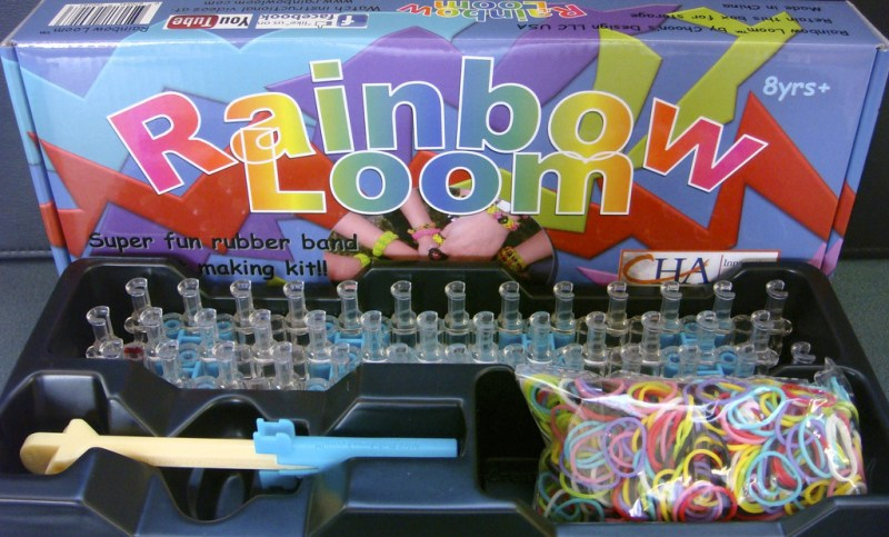 The Rainbow Loom Starter Kit we Purchased for Snubnose