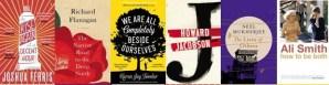 Books on the Man Booker shortlist