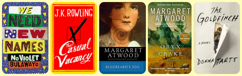 Best literary fiction I read in 2014